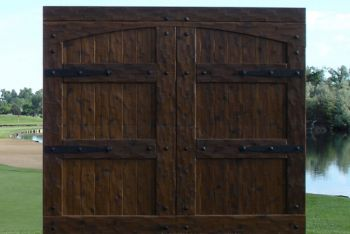 Hand Hewn Garage Doors